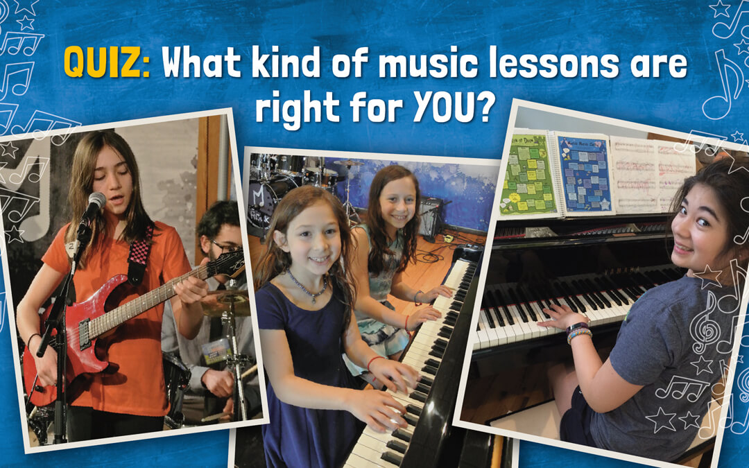 What Kind of Music Lessons are Right for YOUR Kids?