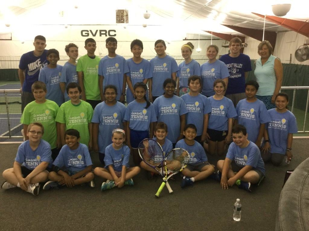 VCF_GreatValleyRacquet_2017 summer camp week 3 afternoon