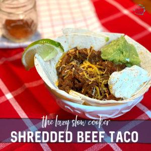 Shredded Beef Taco