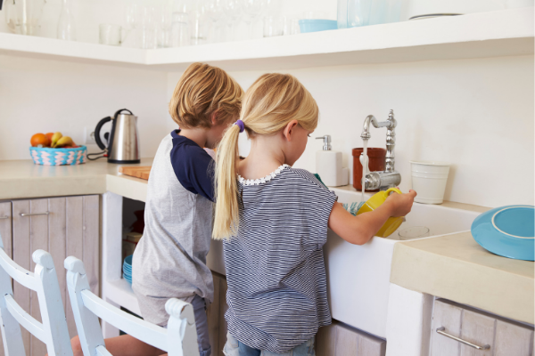 Kids Chores: How to Encourage Kids to Pitch In at Home